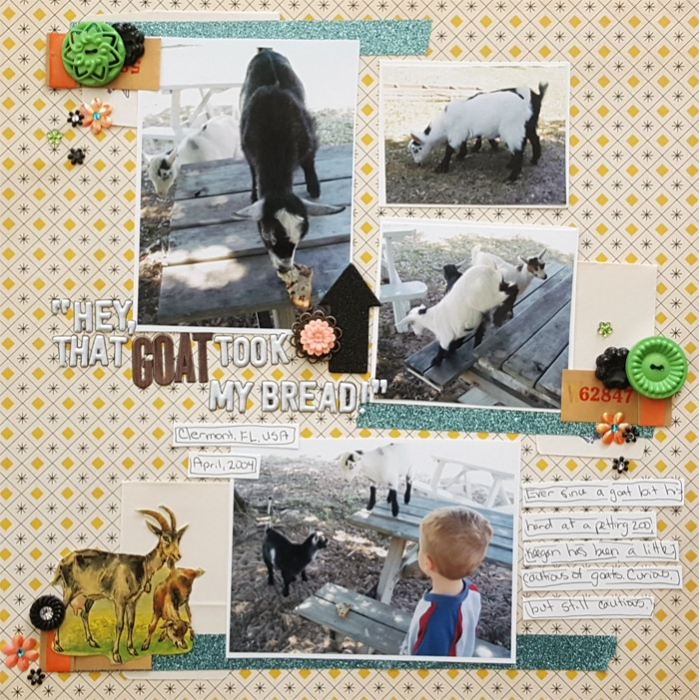 Scrapbook Pages Inspired by the Flea Market Style | Christy Strickler | Get It Scrapped