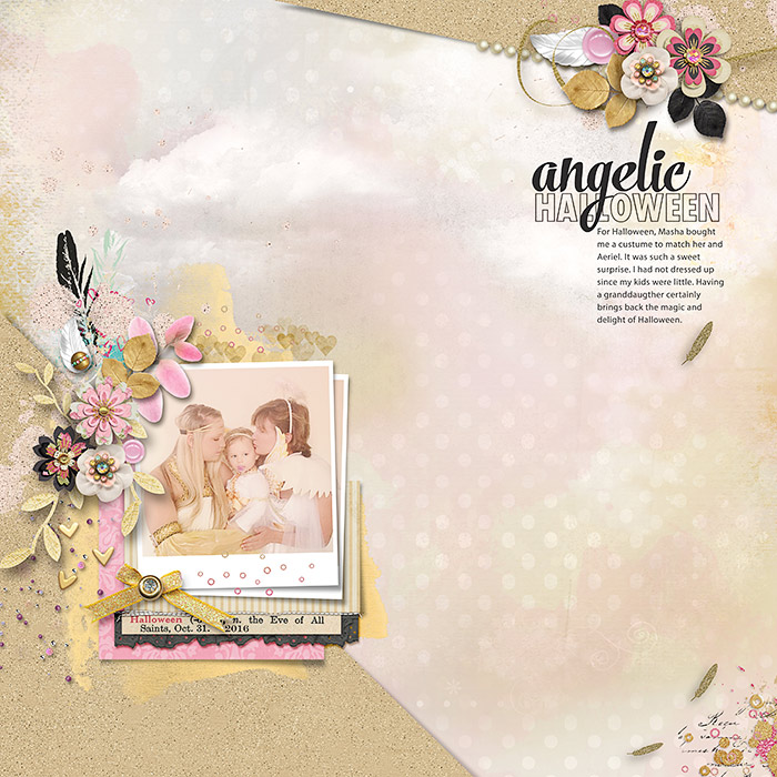 Scrapbook Pages Inspired by the Flea Market Style | Deborah Wagner | Get It Scrapped