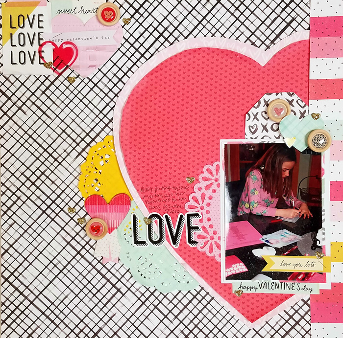 Scrapbook Ideas for Using Meaningful Shapes and Silhouettes in Your Scrapbook Page Foundations | Nicole Mackin | Get It Scrapped