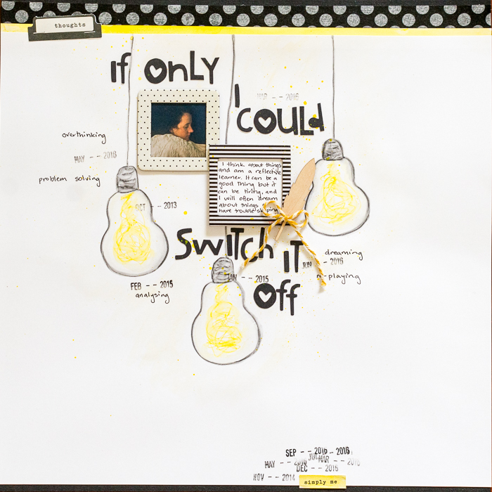 Scrapbook Page Starter: Use a Story-First Approach   Kristy T.   Get It Scrapped