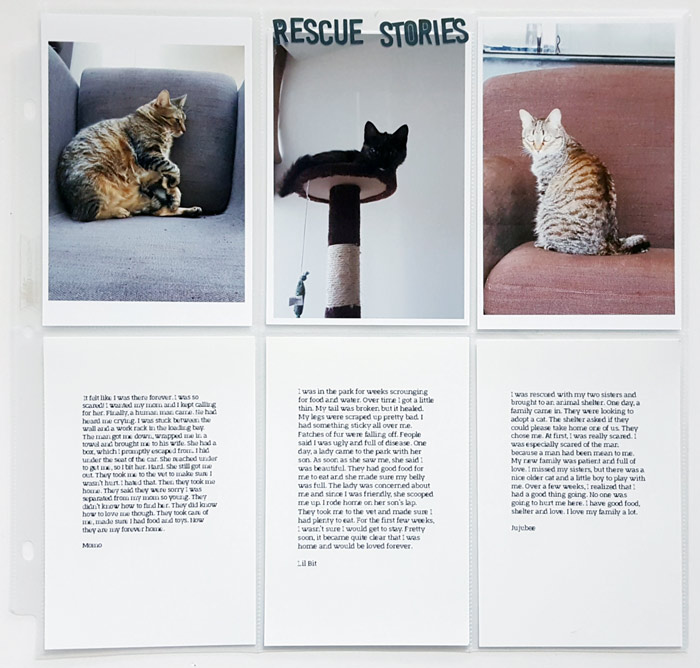 Scrapbook Page Ideas Inspired by Humans of New York | Christy Strickler | Get It Scrapped