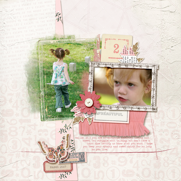 Scrapbook Ideas for Incorporating Impact in a Limited Color Palette | Kelly Prang | Get It Scrapped