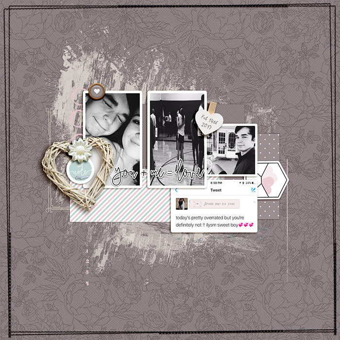 Scrapbook Ideas for Incorporating Impact in a Limited Color Palette | Ronnie Crowley | Get It Scrapped