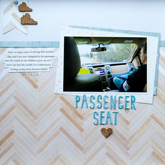 Scrapbook Ideas for Thinking OUTSIDE of the Canvas | Kelly Sroka | Get It Scrapped
