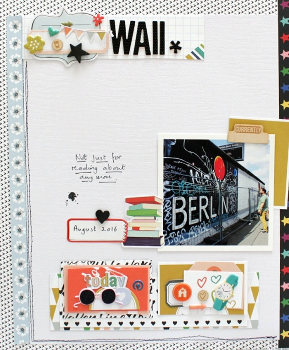 Scrapbook Ideas for Combining Embellishments on The Page | Sian Fair | Get It Scrapped