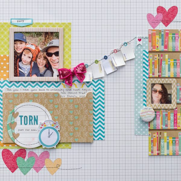Using The Principle of Proximity to Scrapbook Relationships | Kristy T | Get It Scrapped