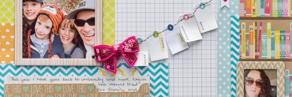 Tell Relationship Stories on the Scrapbook Page Using Design Principle of Proximity | Page Guide No. 16
