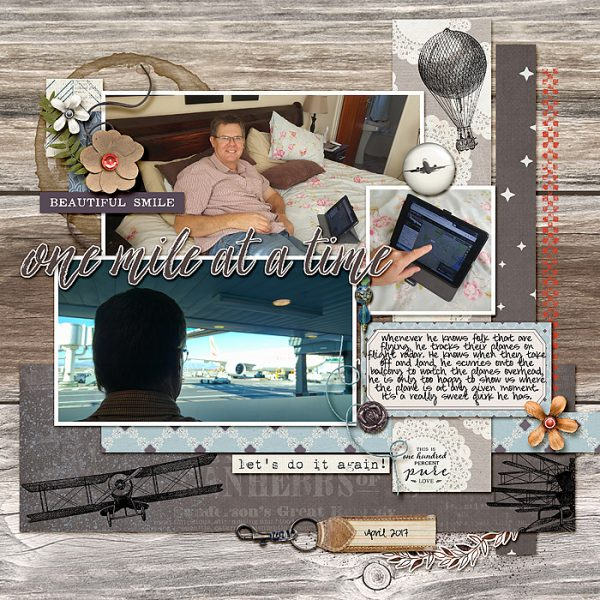 Scrapbook Ideas for Bringing Contrasting Styles Together On Your Page | Stefanie Semple | Get It Scrapped