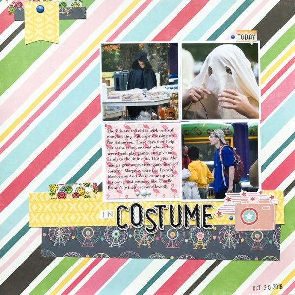 Scrapbook Ideas for Stories About Dress-up and Disguises | Kelly Sroka | Get It Scrapped