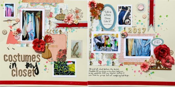 Scrapbook Ideas for Stories About Dress-up and Disguises | Karen Poirier-Brode | Get It Scrapped