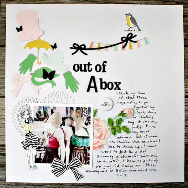 Scrapbook Ideas for Stories About Dress-up and Disguises | Sian Fair | Get It Scrapped