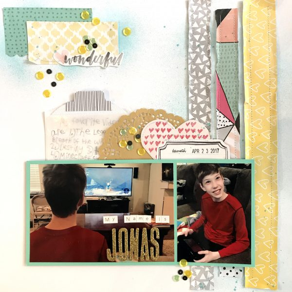 Scrapbook Ideas for Creating Tension with Type | Megan Blethen | Get It Scrapped