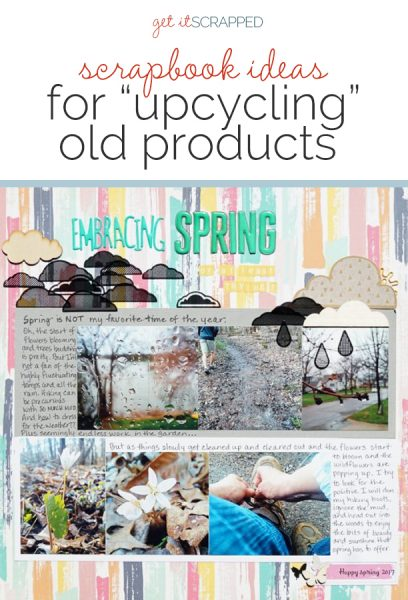 Scrapbook Ideas for Upcycling Your Older Products | Get It Scrapped