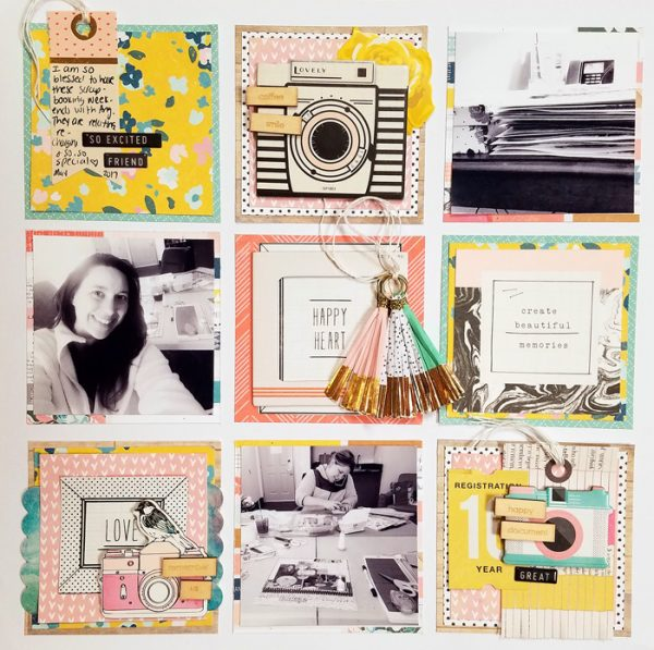Scrapbook Pages Inspired by Learning Spaces | Nicole Mackin | Get It Scrapped