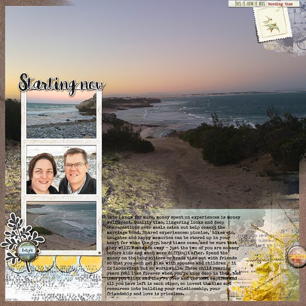 Ideas for Passing Along Wisdom via the Scrapbook Page | Stefanie Semple | Get It Scrapped