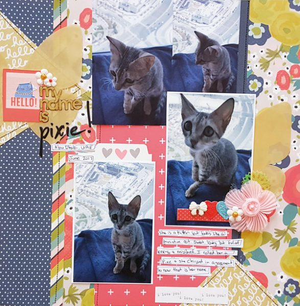 Scrapbook Ideas for Designing with Twos and Fours | Christy Strickler | Get It Scrapped