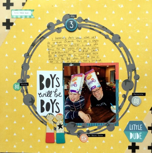 Scrapbook Ideas for Designing with Twos and Fours | Devra Hunt | Get It Scrapped