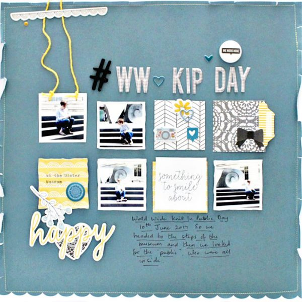 Scrapbook Ideas for Designing with Twos and Fours | Sian Fair | Get It Scrapped