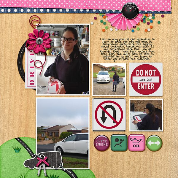 Scrapbook Ideas for Designing with Twos and Fours | Stefanie Semple | Get It Scrapped