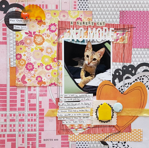 How to Break Design Rules on the Scrapbook Page | Page Guide 21