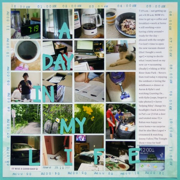 How to Break Rules on the Scrapbook Page   Marcia Fortunato   Get It Scrapped