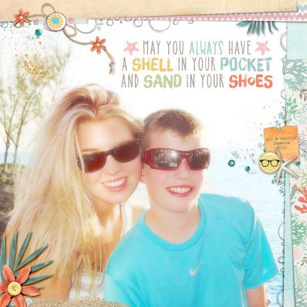 Scrapbook Page Challenge: Make Your Own Kit   Deborah Wagner   Get It Scrapped