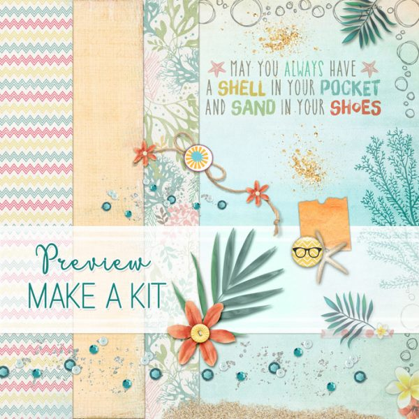 Scrapbook Page Challenge: Make Your Own Kit | Deborah Wagner | Get It Scrapped