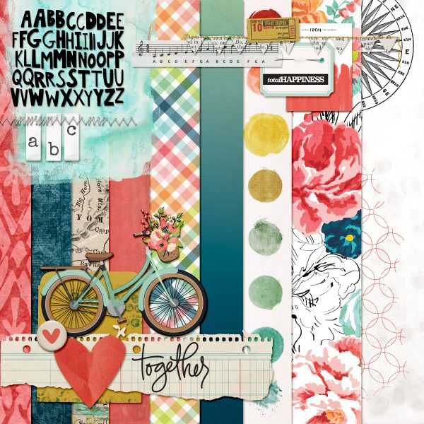 Scrapbook Page Challenge: Make Your Own Kit | Kelly Prang | Get It Scrapped