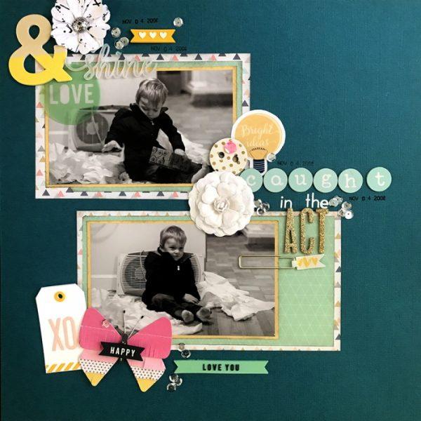 Scrapbook Page Challenge: Make Your Own Kit | Megan Blethen | Get It Scrapped