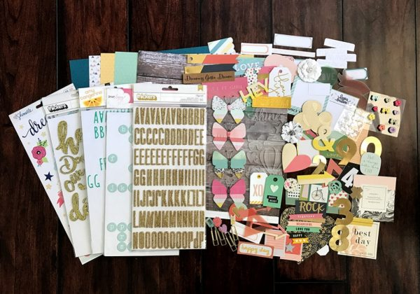 Scrapbook Page Challenge: Make Your Own Kit | Megan Blethen | Get It Scrapped