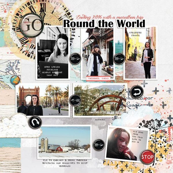 Scrapbook Page Designs That Can Capture Your Trip's Itinerary | Lynn Grieveson | Get It Scrapped