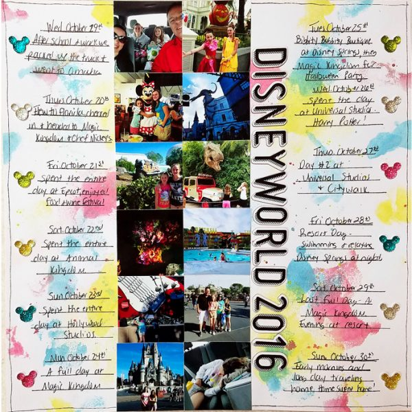 Scrapbook Page Designs That Can Capture Your Trip's Itinerary | Nicole Mackin | Get It Scrapped