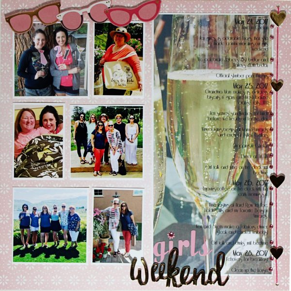 Scrapbook Page Designs That Can Capture Your Trip's Itinerary   Shanna Hystad   Get It Scrapped