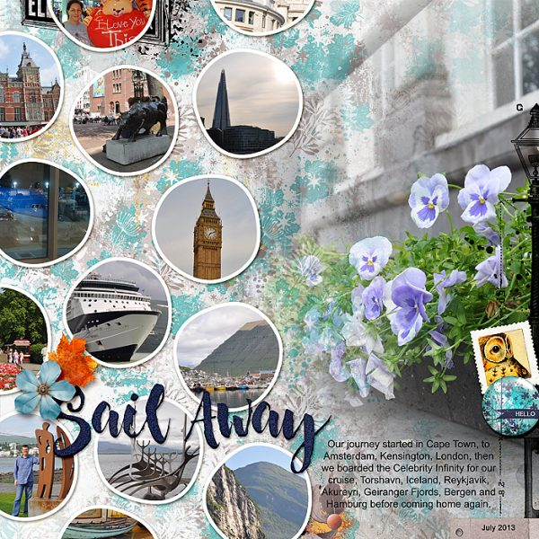 Scrapbook Page Designs That Can Capture Your Trip's Itinerary | Stefanie Semple | Get It Scrapped