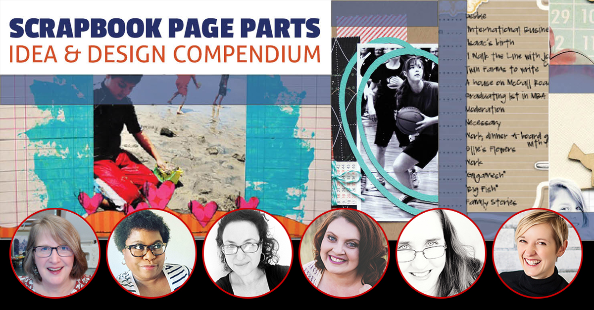 All-New Special 5-Day Event | The Scrapbook Page Parts Idea and Design Compendium