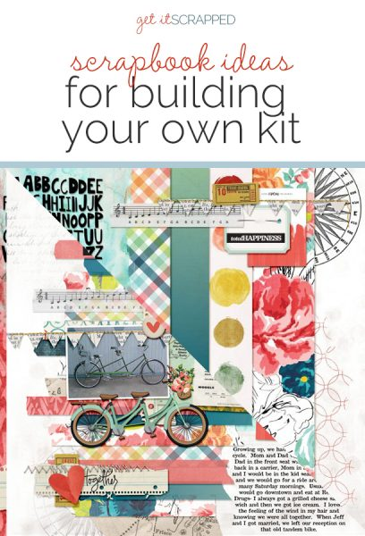 Scrapbook Page Challenge: Make Your Own Kit | Get It Scrapped