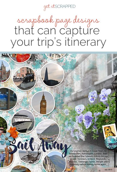 Scrapbook Page Designs That Can Capture Your Trip's Itinerary | Get It Scrapped