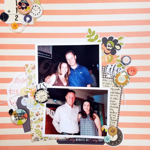 4 Ways to Use Repetition for Impact on the Scrapbook Page | Nicole Mackin | Get It Scrapped