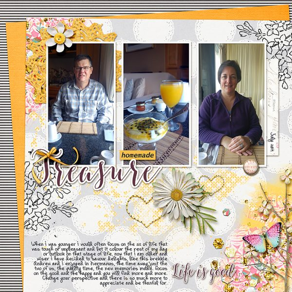 4 Ways to Use Repetition for Impact on the Scrapbook Page | Stefanie Semple | Get It Scrapped