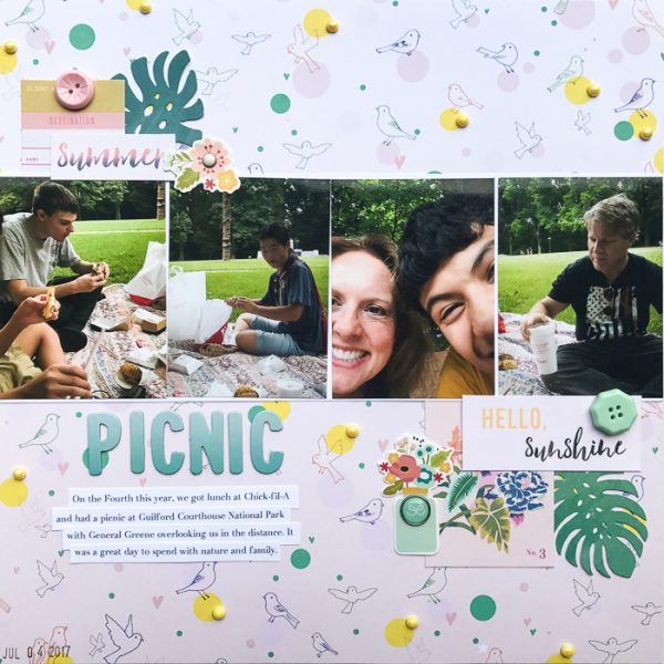 4 Ways to Use Repetition for Impact on the Scrapbook Page | Kelly Sroka | Get It Scrapped