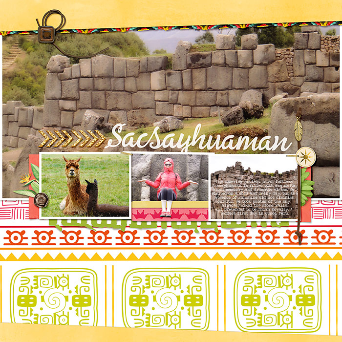 Scrapbook Ideas for Using Bold Tribal Patterns on Your Pages
