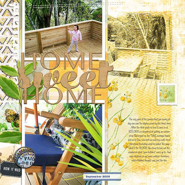 Scrapbook Ideas for Using Bold Tribal Patterns on Your Pages | Lynn Grieveson | Get It Scrapped