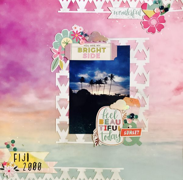 Scrapbook Ideas for Using Bold Tribal Patterns on Your Pages | Megan Blethen | Get It Scrapped
