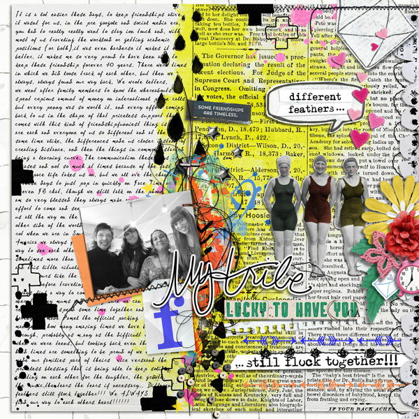 Scrapbook Ideas for Telling Your Tribe's Story | Cynthia T. | Get It Scrapped