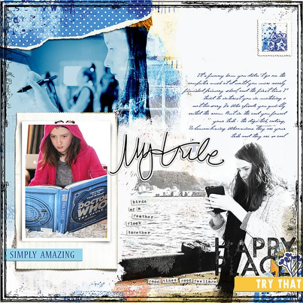 Scrapbook Ideas for Telling Your Tribe's Story | Lynn Grieveson | Get It Scrapped