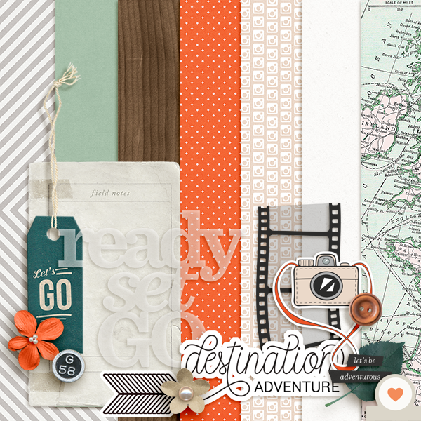 Scrapbook Page Challenge: Make Your Own Kit | Amy Kingsford | Get It Scrapped