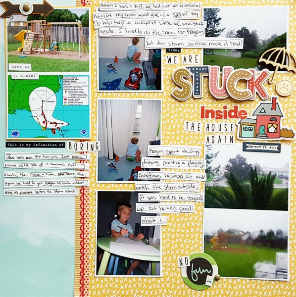 Organize Your Scrapbook Page Elements in Columns and Rows | Christy Strickler | Get It Scrapped
