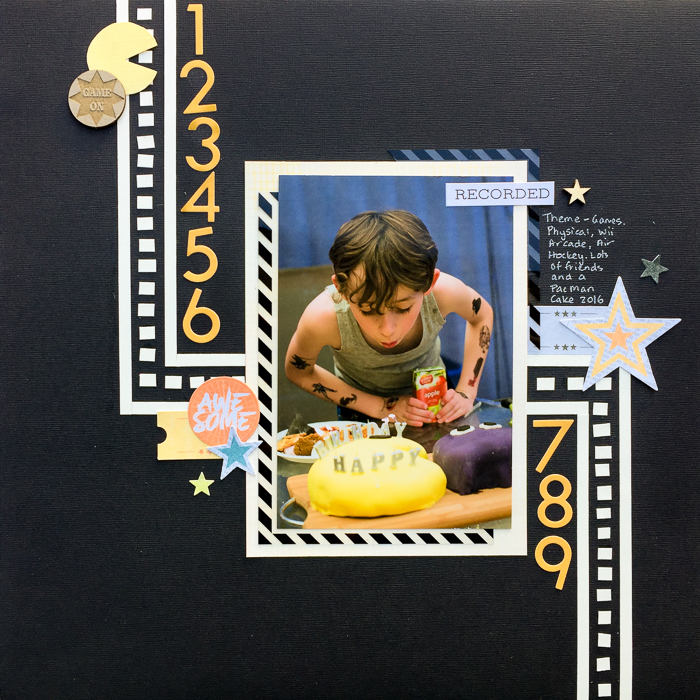 Scrapbook Layout Design Using Continuance to Guide The Eye