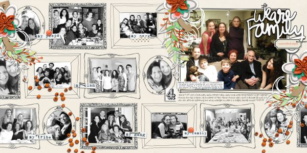 Scrapbook Ideas for Recording Your Family Reunions | Cynthia T. | Get It Scrapped