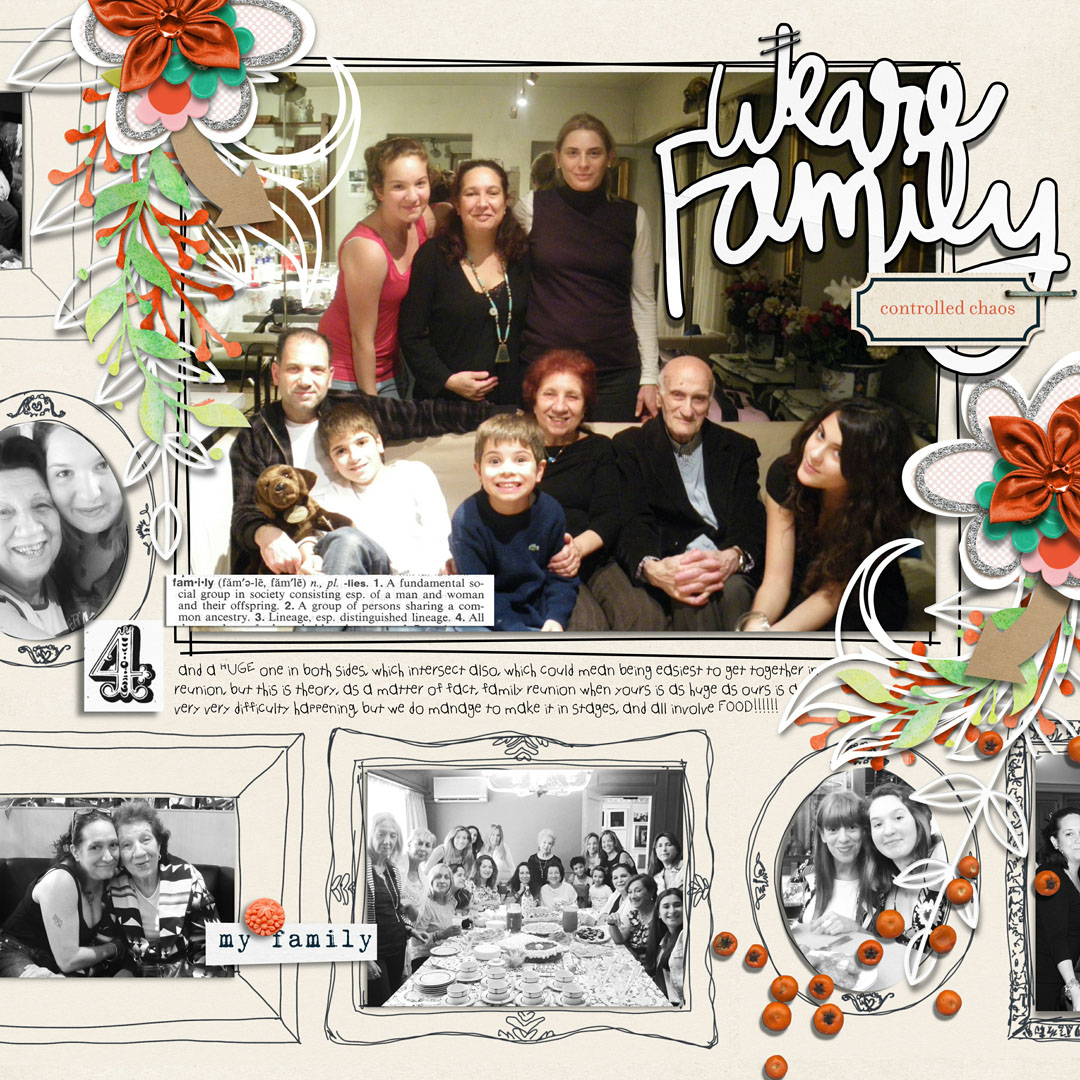Scrapbook Ideas for Recording Your Family Reunions